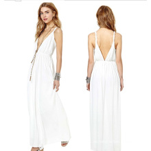 OEM Ropa de las mujeres 2015 manga larga de moda Maxi vestido