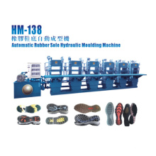 6 Stations Rubber Sole Molding Machine