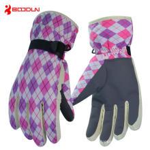 Vollfinger-Sport-Ski-Handschuh für den Winter (BD15007)