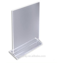 Custom-made Acrylic Menu Display Holder