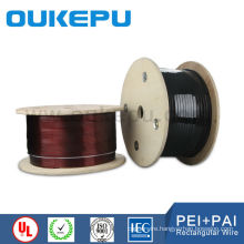 for motor and transformer superior quality copper rectangular enamelled copper wire