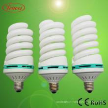 Moitié en spirale en forme Energy Saving Lamp (LWHS011)
