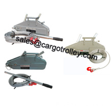 Wire rope pulling tools pictures