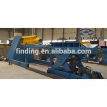 baixo custo uncoiler hidráulico automático aço para máquina de rolamento