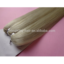 remi hair machine weft 300g ash blonde