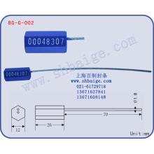 envío de sellos de contenedores BG-G-002