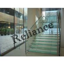 Vidro de segurança temperado para telhado / escadas / varanda (4mm-19mm)