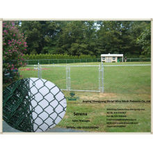 China plastic chain link garden fence (cheap garden fence price)