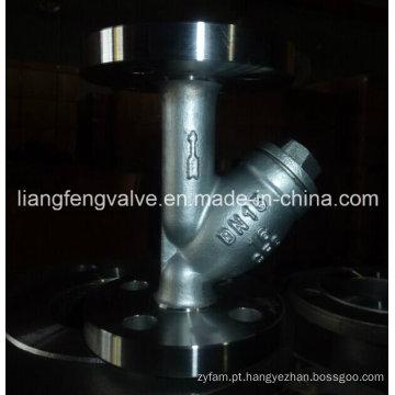 Fio de aço carbono aço Y-Strainer RF