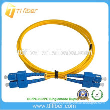 9/125 Singlemode Zipcord SC-SC 5ft Fiber Optic Patch Cord Cable