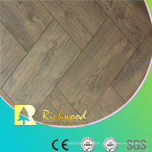 Commercial 12.3mm AC4 Embossed Teak Waxe3d Edged Laminate Flooring