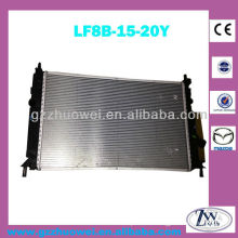 Year 2009 Mazda aluminum radiator, engine cooling radiator for mazda 3 LF8B-15-20Y