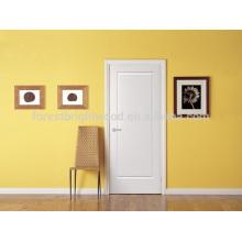 Nuevo diseño interior blanca puerta residencial de madera