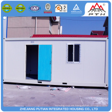 Rápidamente montar barato prefabricado baño contenedor casas para la venta
