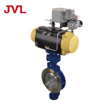 JL600 Pneumatic Double Triple Eccentric Butterfly Valve