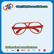Hot Selling Plastic Funny Plastic Red Glasses Toy