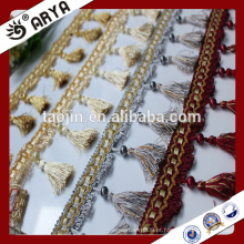 Produtos de acabamento Hangzhou Taojin Textile Tassel Curtain Tassel franges