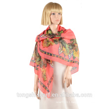 2016Spring /Summer lady's printed polyester scarf 088-07 HA331
