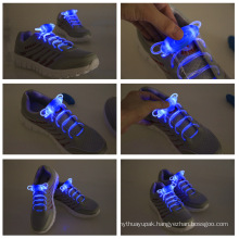 Nylon Reflective LED Shoe Lace