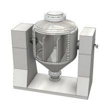 Cristallisoir rotatoire conique simple de vide d'économie d'énergie