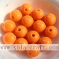 Charming Popular Acrylic Round Solid Beads