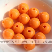 China supplier OEM for plastic pearl beads Charming Popular Acrylic Round Solid Beads supply to Wallis And Futuna Islands Supplier
