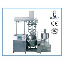Máquina de emulsão a vácuo de pomada de aço inoxidável