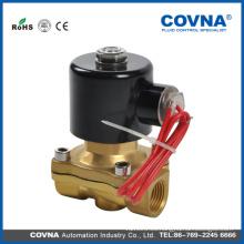 Válvula de agua de solenoide de alta calidad, Válvula de agua eléctrica de solenoide, DC24V
