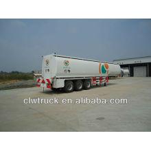 3-axis 45000L camião reboque cisterna de combustível