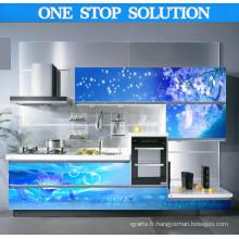 Le nouveau matériau d'armoires de cuisine de la meilleure catégorie de l'île (SM0019)
