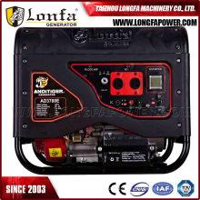 Gerador elétrico silencioso da gasolina do uso Home 5kw 5kVA