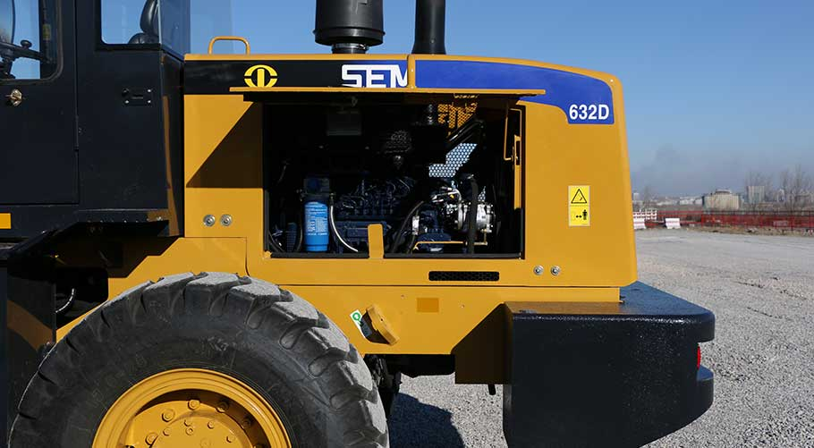 SEM 632D wheel loader