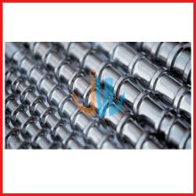 Baril à vis unique d'extrudeuse bimétallique/baril à vis en carbure de tungstène