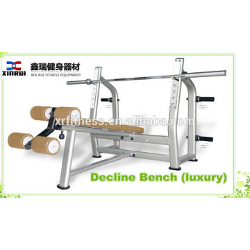 Plate Loaded Gym Equipment Type Weight Liftinng Decline Bench (luxury)/ Decline Chest Press made in China
