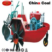 Boots-Traktor-Reis-Landwirtschafts-Traktor