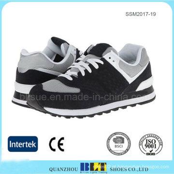 Têxtil respirável forro para sapatos de conforto adicional de homens