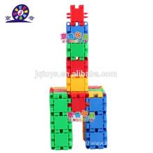 Plástico magnético blocos de construção para crianças com SGS EN 71