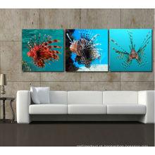 Peixe decorativo de parede