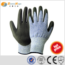 SUNNYHOPE HOPE cut resistant blue nitrile coated gloves