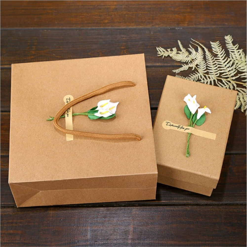 Kraft Brown Gift Boxes