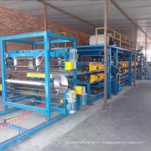 """Petit pain de panneau """"sandwich"""" EPS formant la chaîne de production de machine"""