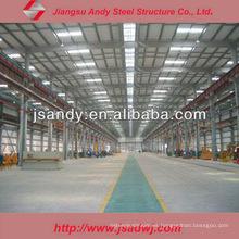 Construcción Diseño Estructura de acero prefabricada Taller / Fábrica