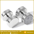 Fake Stretcher Plug Pendientes Piercing Ear Plug Tunnel con