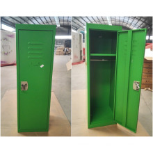 Abattez la couleur verte des enfants mini casier métallique