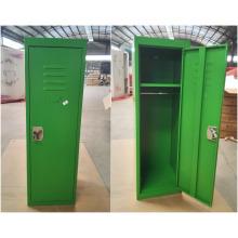 Сбить зеленого цвета детский мини металлический шкафчик