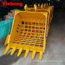 whosale price PC220 excavator skeleton bucket