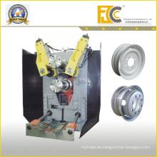 Hidráulico Automic Rodillo de borde de la rueda de Tubeless personalizable que forma la máquina