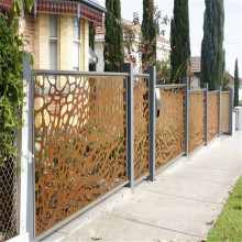 Laser Cut Screen Fences