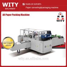 Máquina de embalagem de papel A4