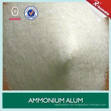 Venta caliente de amonio purificado alumbre / sulfato de aluminio